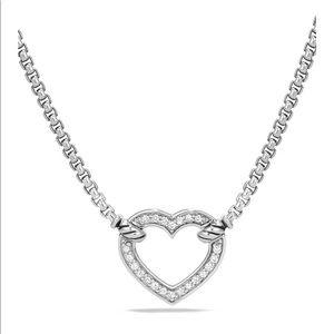 David Yurman Valentine Diamond Station Necklace